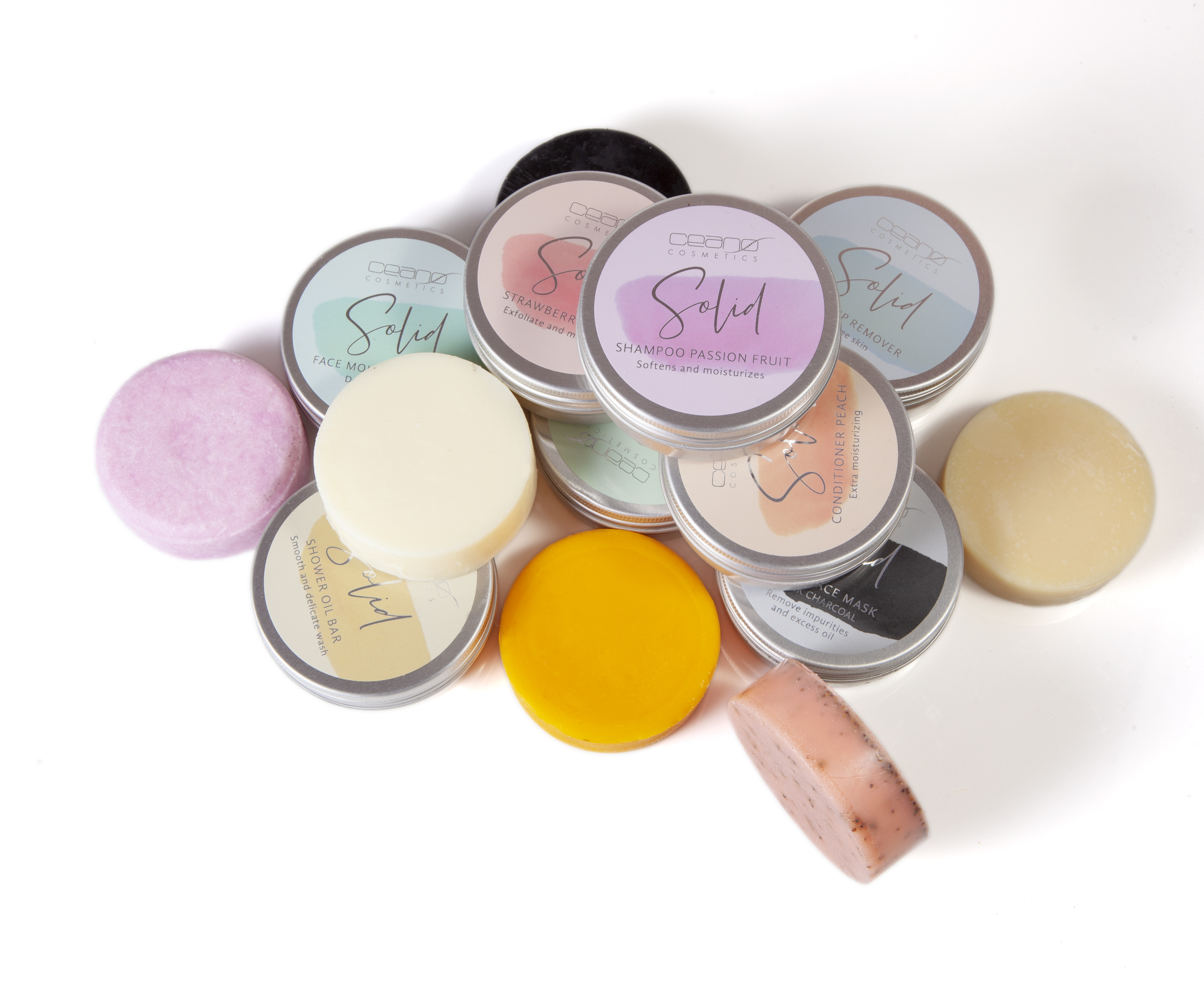The line of solid cosmetics takes care of you and the whole planet