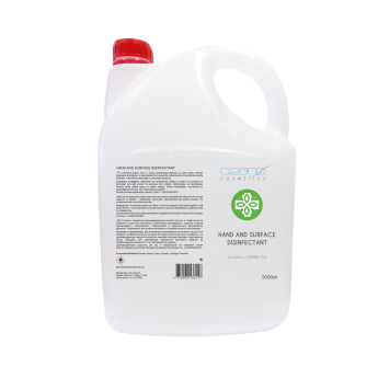 New Alcohol-based hand and surface disinfectant 5L